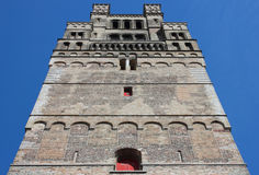 Church of Our Lady Tower in Bruges Royalty Free Stock Image