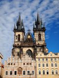 Church of Our Lady Before Tyn Royalty Free Stock Image