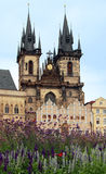Church of Our Lady before Tyn Stock Image