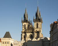 Church of Our Lady before Tyn Stock Photography