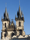 Church of Our Lady before Tyn Royalty Free Stock Images