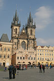 Church of Our Lady before Tyn on the Old Town Square, Prague, Czech Republic Royalty Free Stock Photos