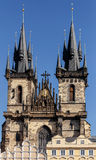 The Church of Our Lady before Tyn Royalty Free Stock Image