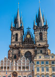 The Church of Our Lady before Tyn Royalty Free Stock Photo