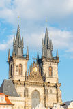Church of Our Lady before Tyn.Prague Royalty Free Stock Photos