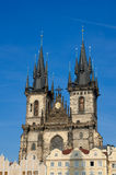Church of our lady before Tyn,Prague,Bohemia Royalty Free Stock Photography