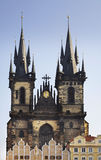 Church of Our Lady before Tyn in Prague. Czech Republic Royalty Free Stock Photography