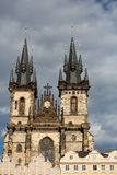 Church of Our Lady before Tyn in Prague Stock Photography