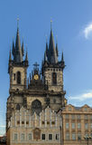 Church of Our Lady before Tyn, Prague Stock Photography