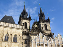 Church of Our Lady before Tyn, Prague Royalty Free Stock Photos