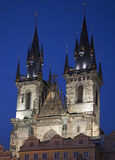 Church of Our Lady before Tyn, Prague Royalty Free Stock Image