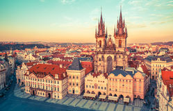 Church of our Lady before tyn Prague royalty free stock photography