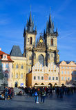 Church of Our Lady Before Tyn, Prague Royalty Free Stock Photography