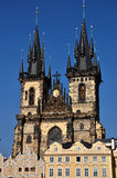 Church of Our Lady before Tyn Prague Stock Images