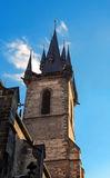 Church of Our Lady before Tyn Royalty Free Stock Photos