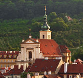 Church of our Lady Victorious. In Mala Strana, Prague, Czech Republic Stock Photography
