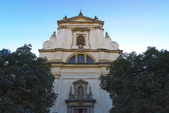 Church of Our Lady Victorious in Mala Strana Royalty Free Stock Images