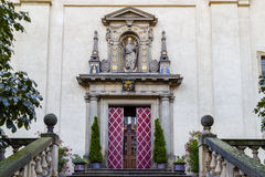 Church of Our Lady Victorious in Mala Strana Royalty Free Stock Photo