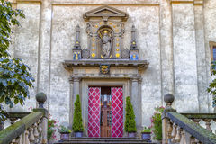 Church of Our Lady Victorious in Mala Strana Stock Images