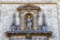 Church of Our Lady Victorious in Mala Strana Stock Photo