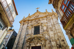The Church of Our Lady Victorious in Porto, Portugal. Royalty Free Stock Photo