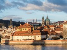 Church of Our Lady Victorious, the Strahov Monastery and Church. Of St. Nicholas, Prague, Czech republic Royalty Free Stock Image