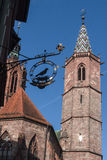 Church of Our Lady Villingen-Schwenningen Royalty Free Stock Photos