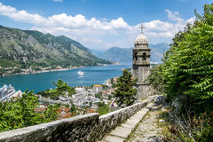 Church of Our Leady of Remedy in Kotor.Montenegro Royalty Free Stock Photography