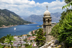 Church of Our Leady of Remedy in Kotor.Montenegro Royalty Free Stock Image