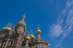 The Church of Our Savior on Spilled Blood Royalty Free Stock Photo