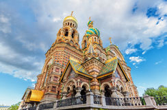 Church of Our Savior on Spilled Blood Royalty Free Stock Photography