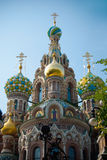The Church of Our Savior on Spilled Blood Stock Photo