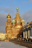 The Church of Our Savior on Spilled Blood Royalty Free Stock Photos