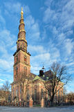 Church of Our Saviour in Copenhagen, Denmark Stock Images