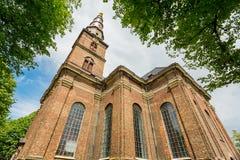 Church of our Saviour, Copenhagen Stock Photos