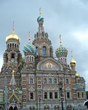 Church of Our Saviour of the spilled blood Stock Photography