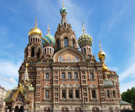 Church of Our Saviour on Spilled Blood of Resurrection Royalty Free Stock Photos