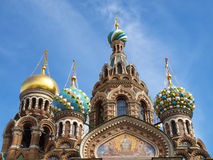 Church of Our Saviour on Spilled Blood of Resurrection Stock Photography