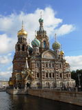 CHURCH OF OUR SAVIOR ON SPILLED BLOOD, SAINT-PETERSBURG, RUSSIA Stock Images