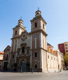 Church Our seniora del Carmen. Murcia,  Spain Royalty Free Stock Images
