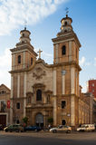 Church Our seniora del Carmen. Murcia,  Spain Royalty Free Stock Image