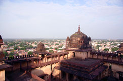 Church overview, India Royalty Free Stock Photo