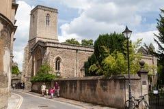 Church Oxford England Royalty Free Stock Photo
