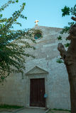 Church in Pag Stock Photography