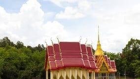 Church pagoda forest Stock Photography
