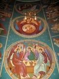 Church paintings Royalty Free Stock Photo