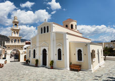 Church in Paleohora on Crete Royalty Free Stock Photo