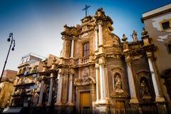 Church in Palermo, Sicily Stock Photo