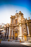 Church in Palermo, Sicily Royalty Free Stock Image
