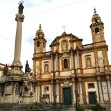 Church in Palermo Royalty Free Stock Photography
